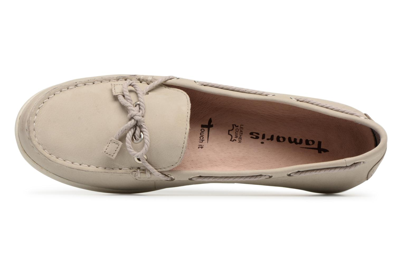 Chaussures à lacets Tamaris Kili Beige vue gauche