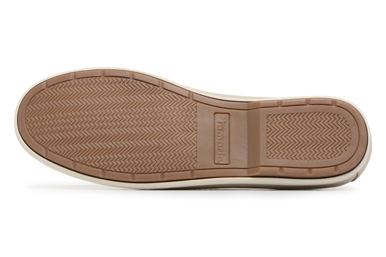 Chaussures à lacets Tamaris Kili Beige vue haut