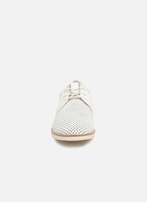 Zapatos con cordones Tamaris Laurier Blanco vista del modelo