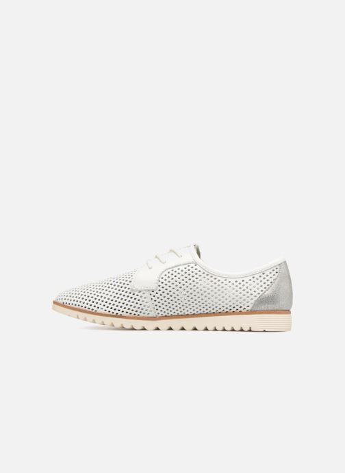 Zapatos con cordones Tamaris Laurier Blanco vista de frente