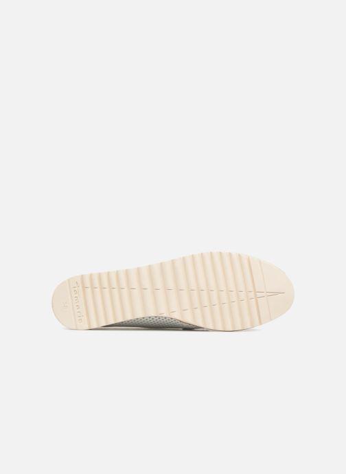 Zapatos con cordones Tamaris Laurier Blanco vista de arriba