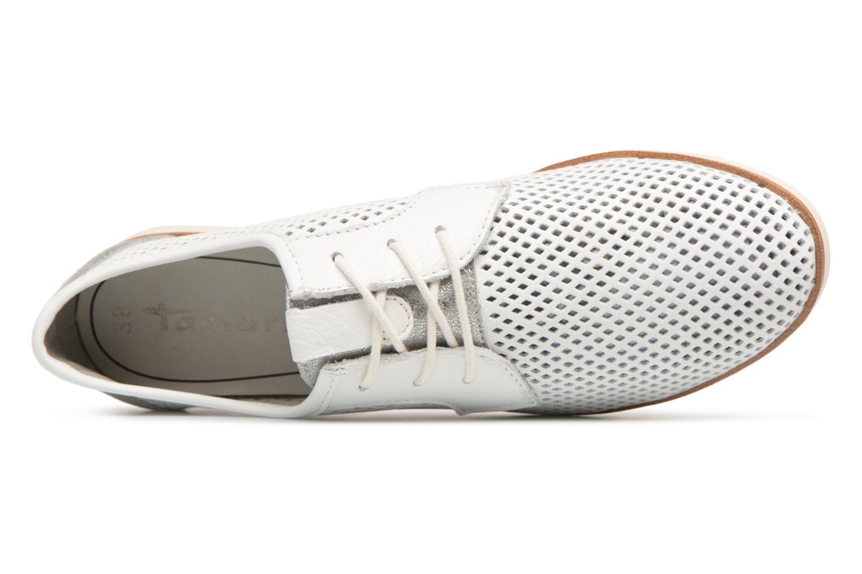 Chaussures à lacets Tamaris Laurier Blanc vue gauche