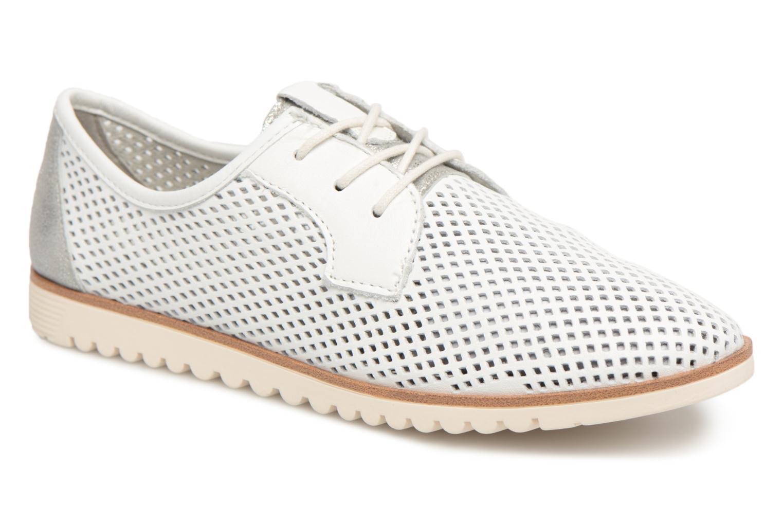 Chaussures à lacets Tamaris Laurier Blanc vue détail/paire