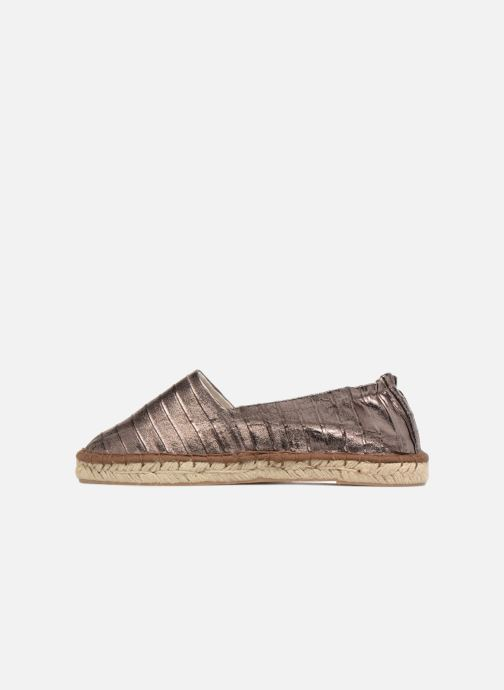 Espadrilles Tamaris Gingembre Bronze and Gold front view
