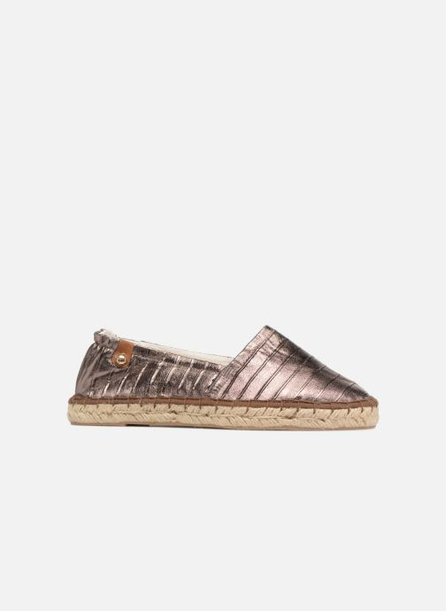 Espadrilles Tamaris Gingembre Bronze and Gold back view