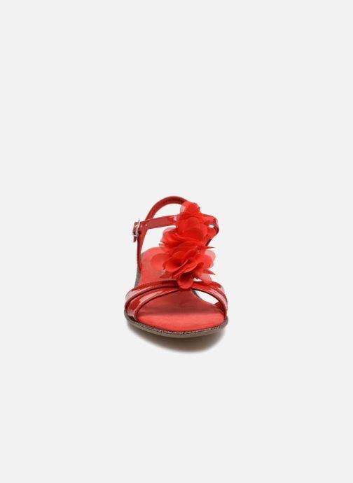 Sandales et nu-pieds Tamaris Cèdre 2 Rouge vue portées chaussures