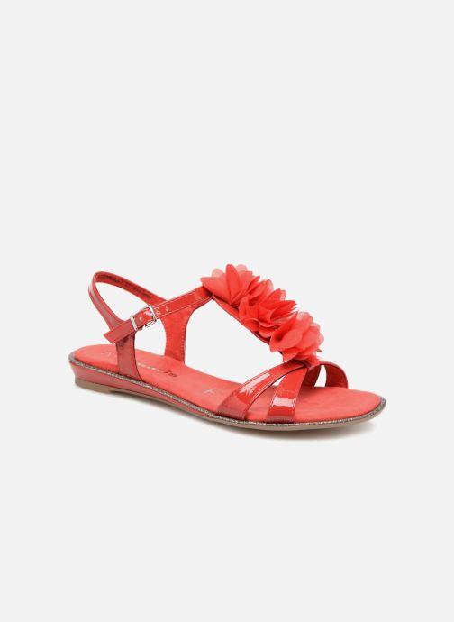Sandales et nu-pieds Tamaris Cèdre 2 Rouge vue détail/paire