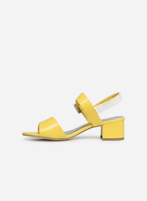 Sandales et nu-pieds Tamaris Agave 2 Jaune vue face