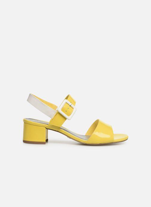 Sandales et nu-pieds Tamaris Agave 2 Jaune vue derrière