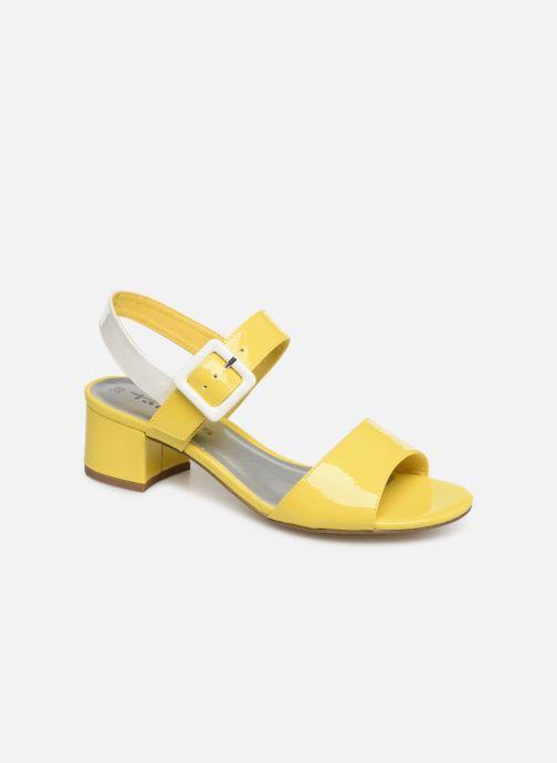 Sandaler Tamaris Agave 2 Gul detaljeret billede af skoene