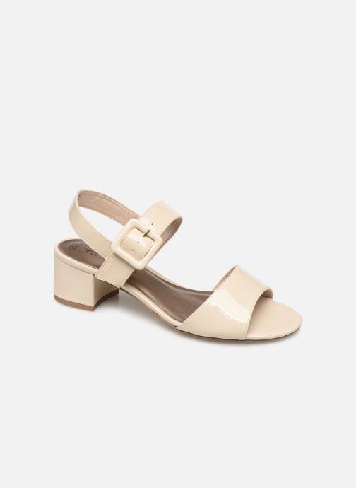 Sandals Tamaris Agave 2 Beige detailed view/ Pair view
