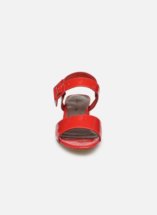 Sandales et nu-pieds Tamaris Agave 2 Rouge vue portées chaussures