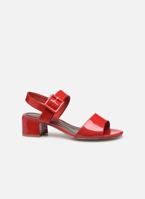 Sandales et nu-pieds Tamaris Agave 2 Rouge vue derrière