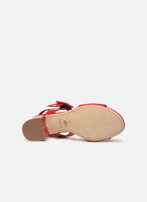 Sandales et nu-pieds Tamaris Agave 2 Rouge vue haut