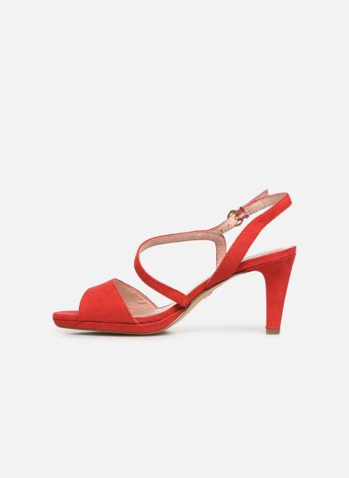 Sandales et nu-pieds Tamaris Surelle Rouge vue face