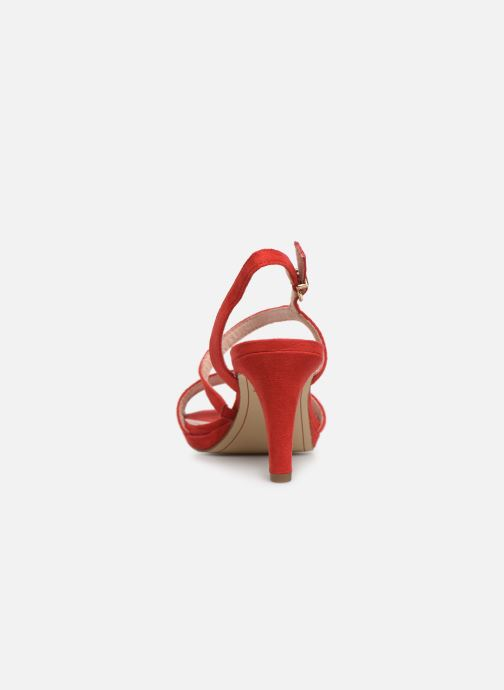 Sandales et nu-pieds Tamaris Surelle Rouge vue droite