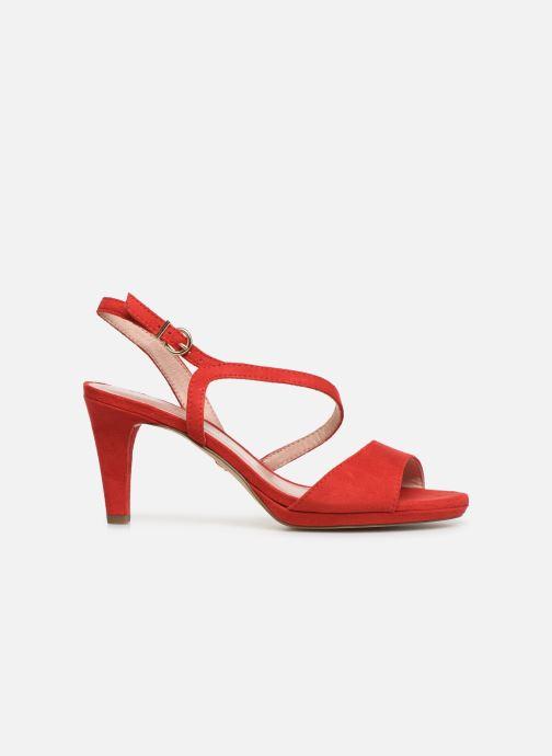 Sandales et nu-pieds Tamaris Surelle Rouge vue derrière
