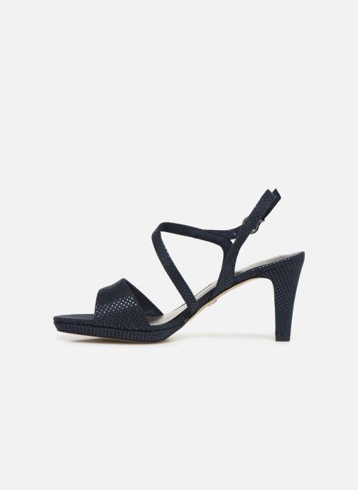 Sandales et nu-pieds Tamaris Surelle Bleu vue face