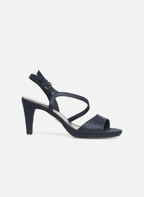 Sandales et nu-pieds Tamaris Surelle Bleu vue derrière