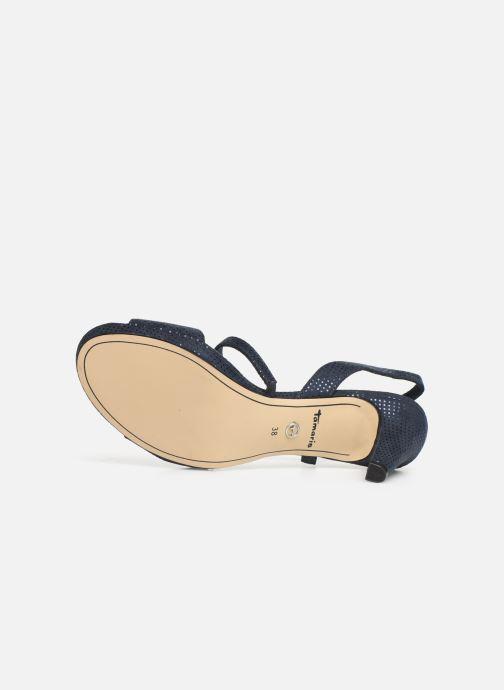 Sandales et nu-pieds Tamaris Surelle Bleu vue haut