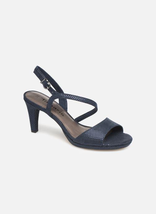 Sandales et nu-pieds Tamaris Surelle Bleu vue détail/paire