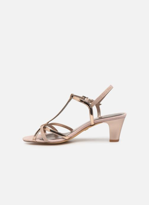 Sandales et nu-pieds Tamaris Sarriette Rose vue face