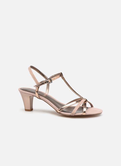 Sandals Tamaris Sarriette Pink back view