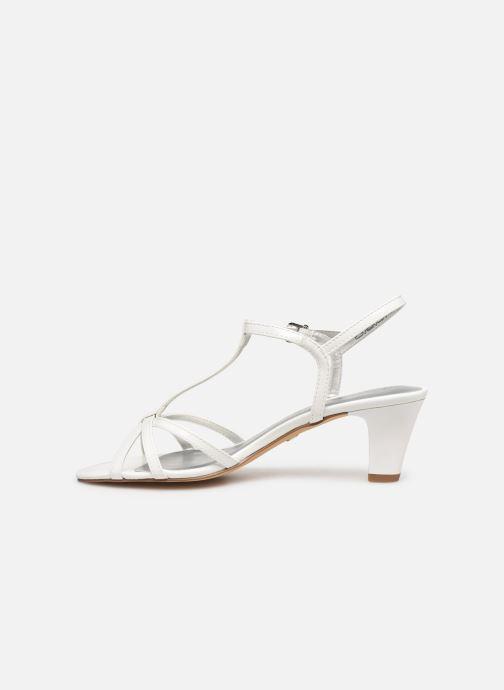 Sandales et nu-pieds Tamaris Sarriette Blanc vue face