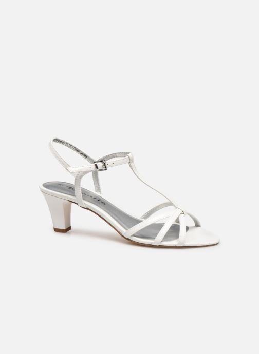 Sandales et nu-pieds Tamaris Sarriette Blanc vue derrière