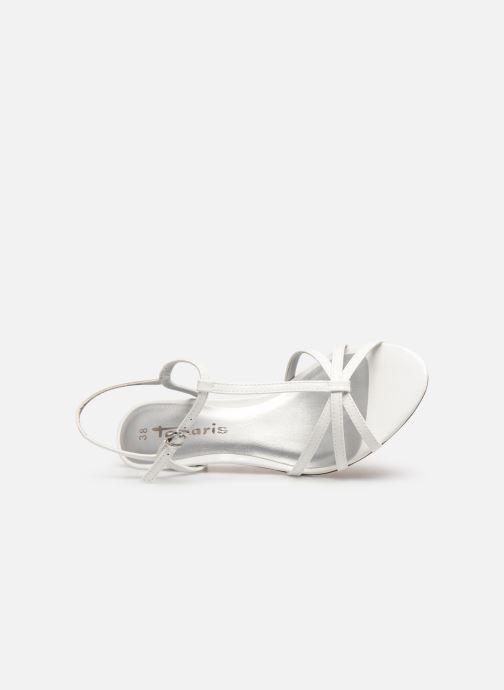 Sandales et nu-pieds Tamaris Sarriette Blanc vue gauche