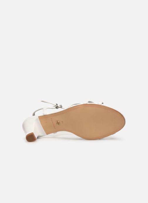 Sandales et nu-pieds Tamaris Sarriette Blanc vue haut