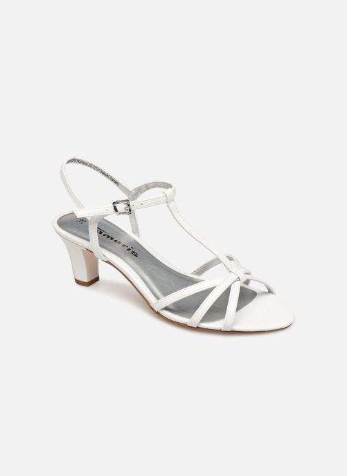 Sandales et nu-pieds Tamaris Sarriette Blanc vue détail/paire