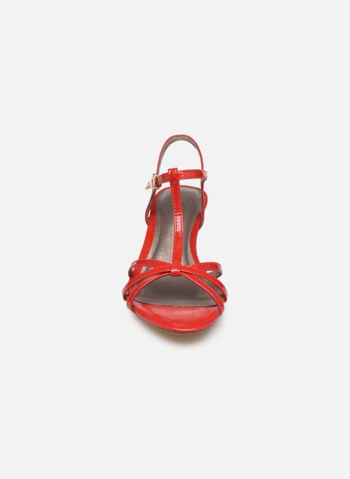 Sandales et nu-pieds Tamaris Sarriette Rouge vue portées chaussures