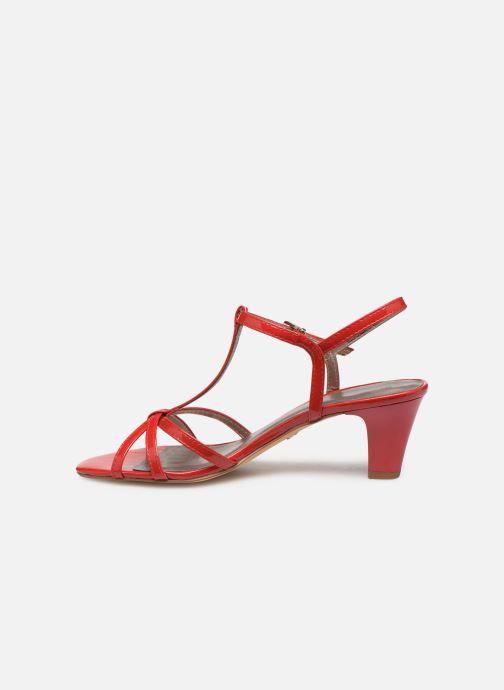 Sandales et nu-pieds Tamaris Sarriette Rouge vue face