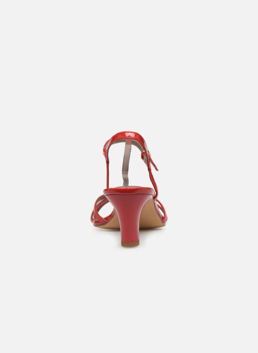 Sandales et nu-pieds Tamaris Sarriette Rouge vue droite
