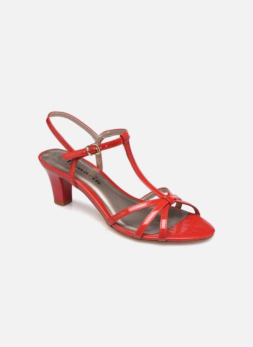 Sandales et nu-pieds Tamaris Sarriette Rouge vue détail/paire