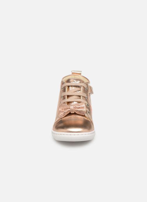Bottines et boots Shoo Pom Bouba Zippy Argent vue portées chaussures