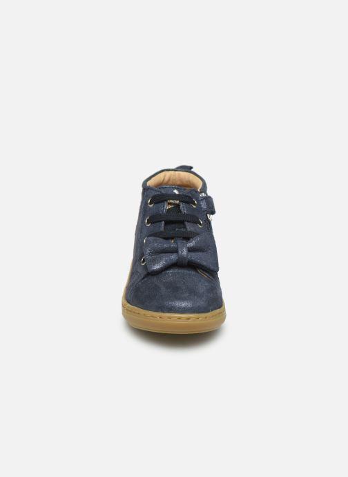 Bottines et boots Shoo Pom Bouba Zippy Bleu vue portées chaussures