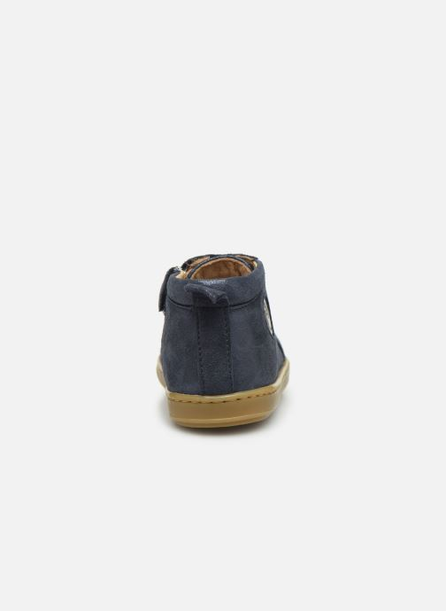 Ankle boots Shoo Pom Bouba Zippy Blue view from the right