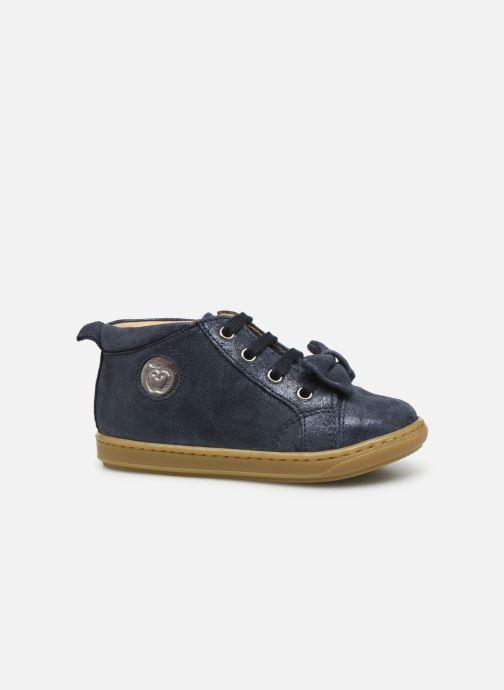 Ankle boots Shoo Pom Bouba Zippy Blue back view