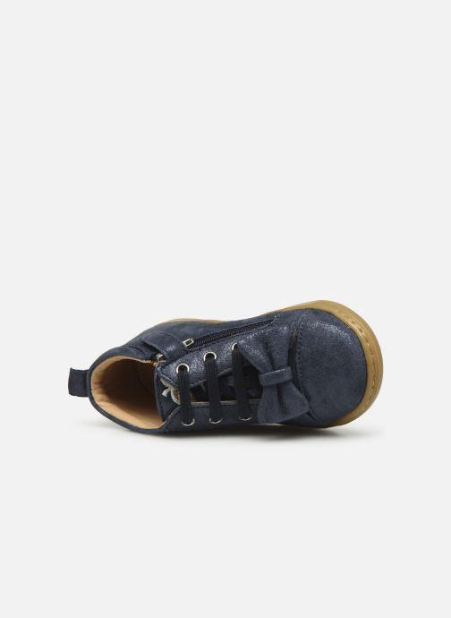 Bottines et boots Shoo Pom Bouba Zippy Bleu vue gauche