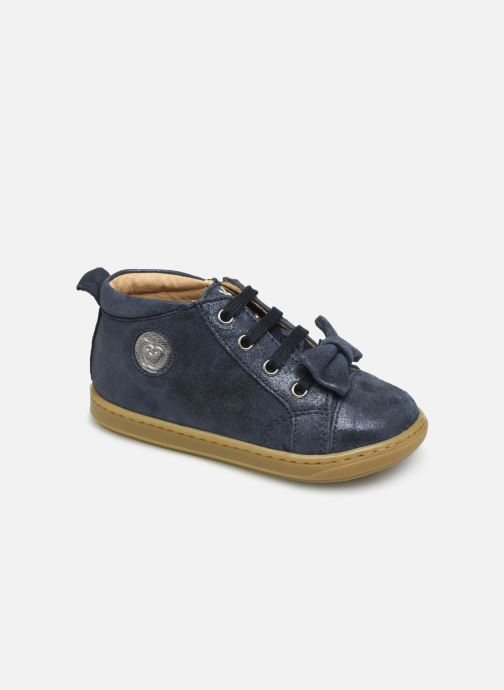Ankle boots Shoo Pom Bouba Zippy Blue detailed view/ Pair view