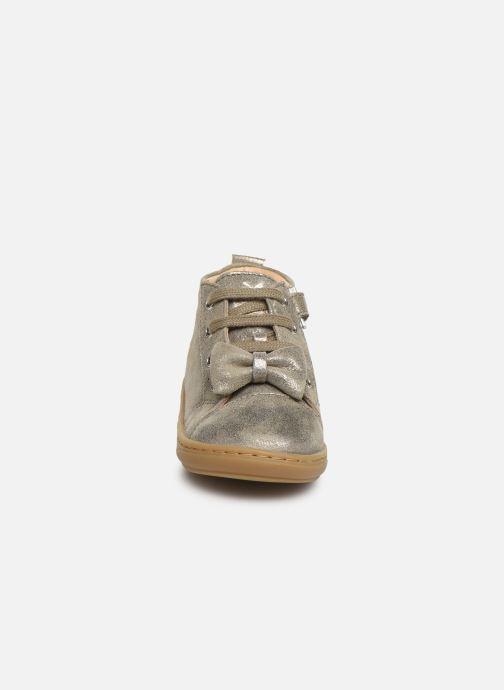 Bottines et boots Shoo Pom Bouba Zippy Gris vue portées chaussures