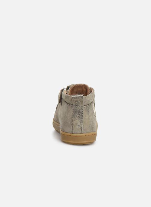 Bottines et boots Shoo Pom Bouba Zippy Gris vue droite