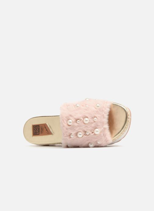 Clogs & Pantoletten Gioseppo Mooni rosa ansicht von links