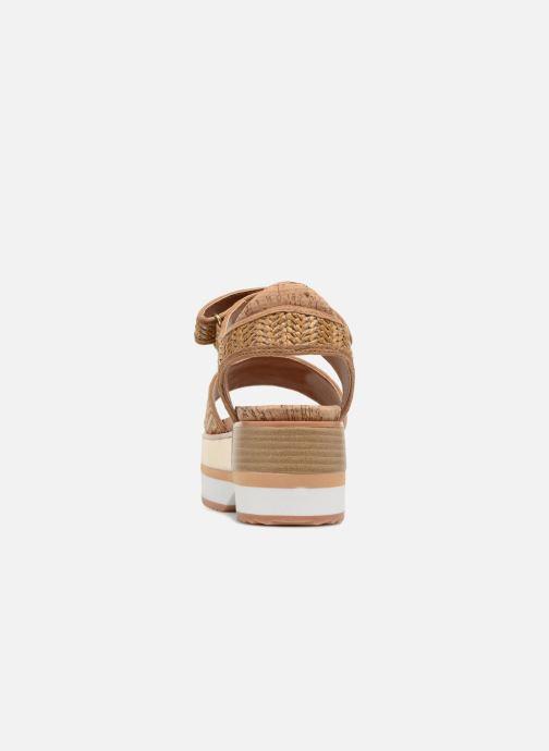 Sandales et nu-pieds Gioseppo Piset Marron vue droite