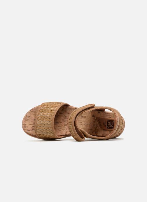 Sandales et nu-pieds Gioseppo Piset Marron vue gauche