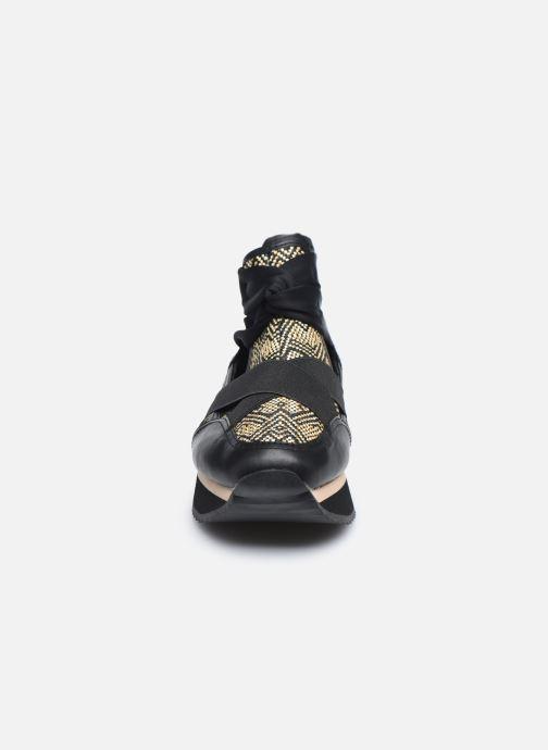 Sneaker Gioseppo Daneor schwarz schuhe getragen