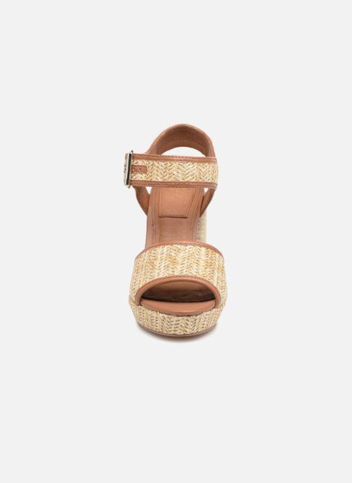 Sandales et nu-pieds Gioseppo Banain Beige vue portées chaussures