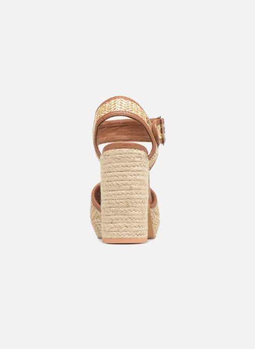 Sandales et nu-pieds Gioseppo Banain Beige vue droite
